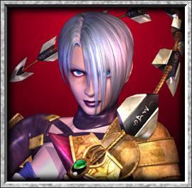 PROFILE アイヴィー | バンダイナムコゲームス公式サイト 使用武器 蛇腹剣 武器名 アイ